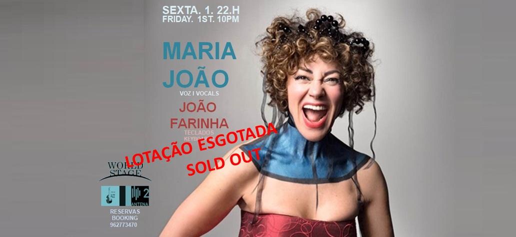 Maria João v I João Farinha tecl I Dia Mundial da Música Concerto Antena2