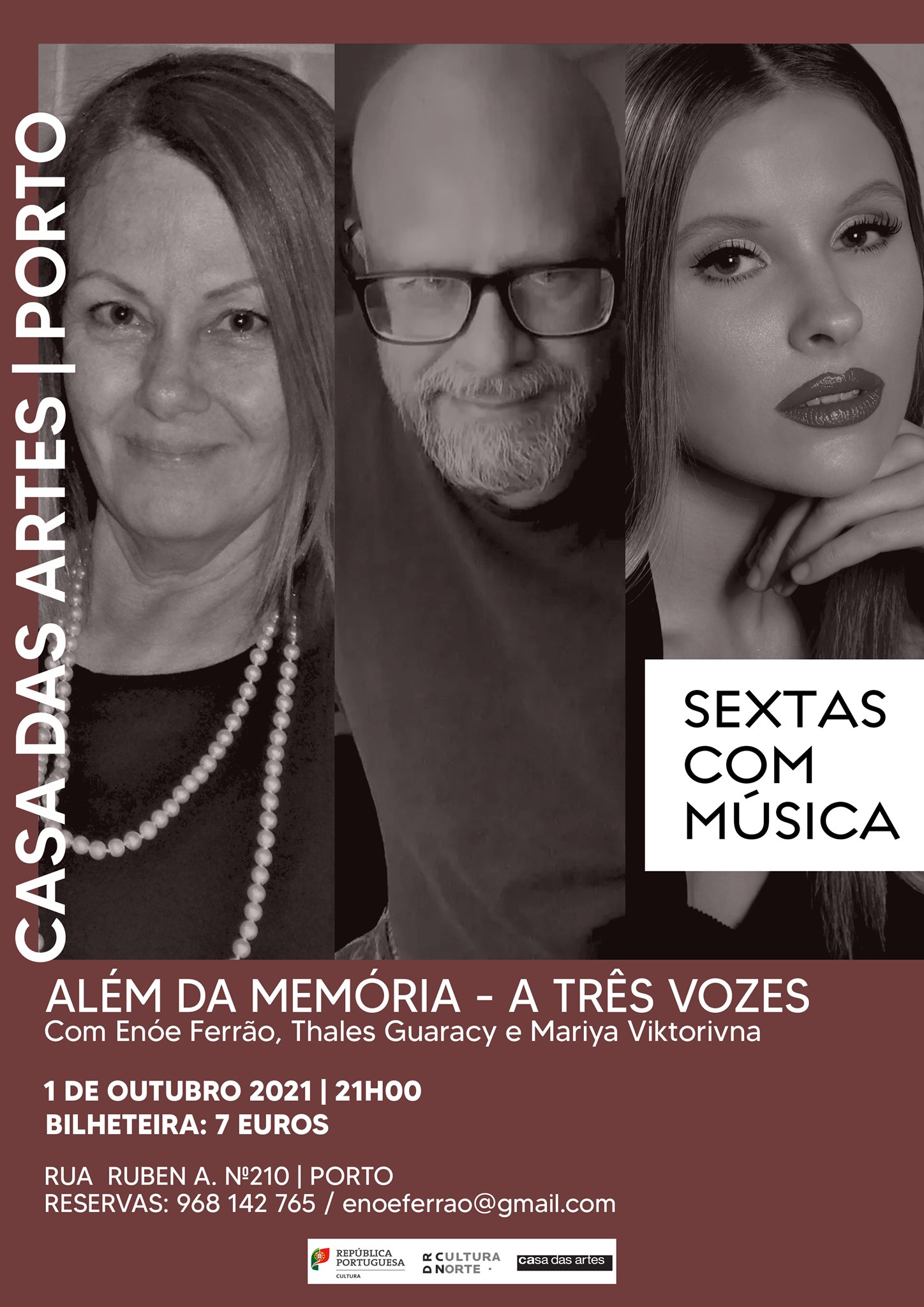 Concerto - ALÉM DA MEMÓRIA - A TRÊS VOZES