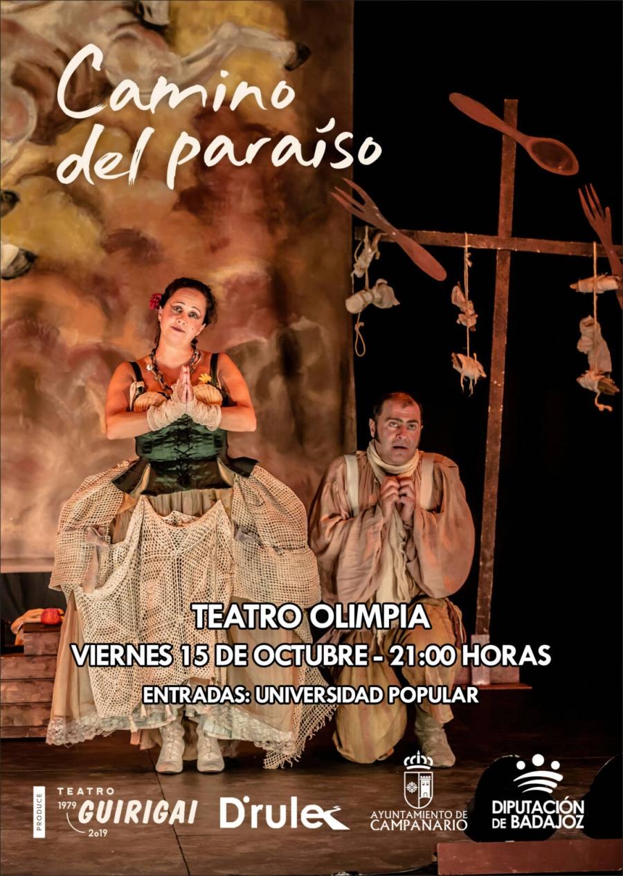 Teatro: Camino del paraíso