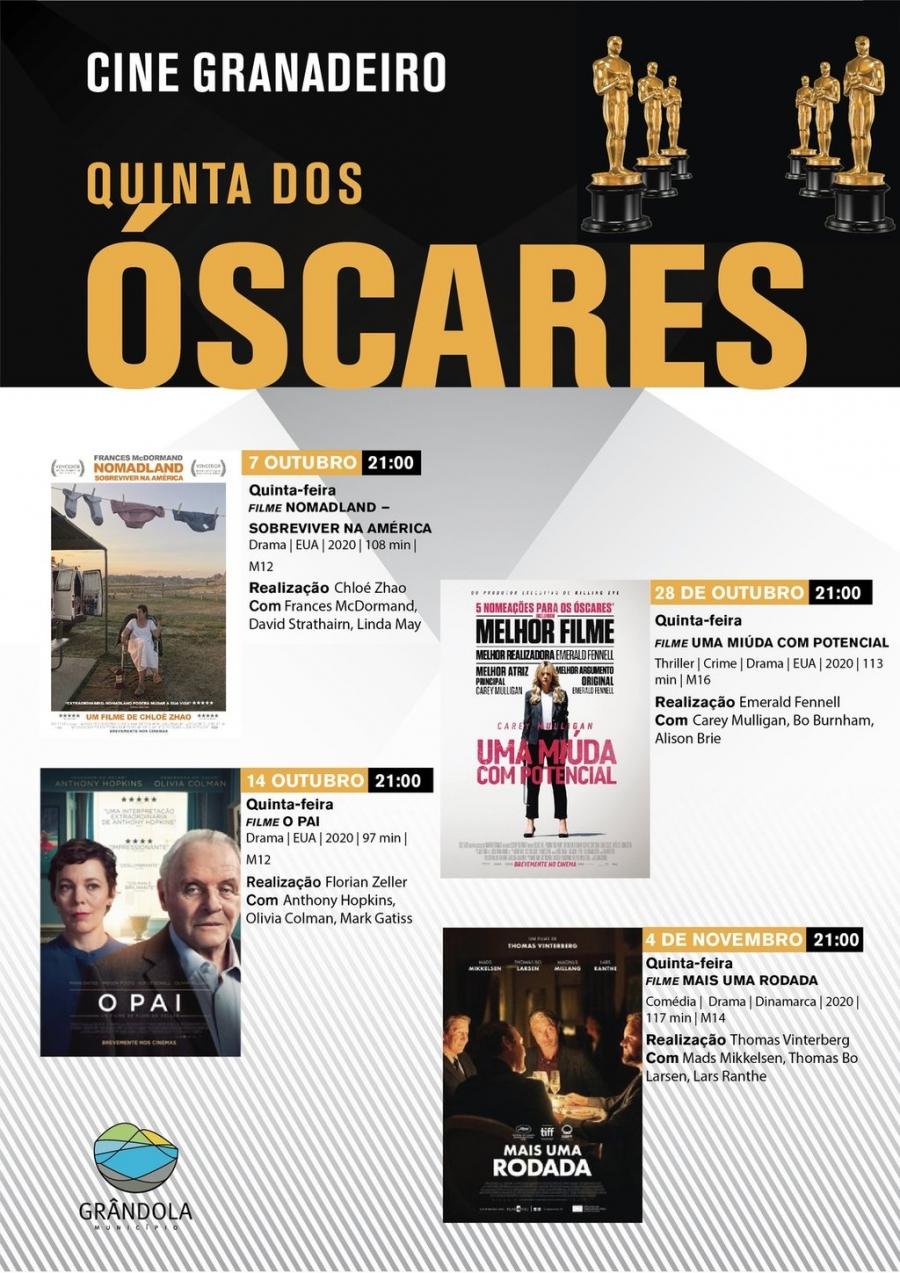 Ciclo de Cinema - Quinta dos Óscares