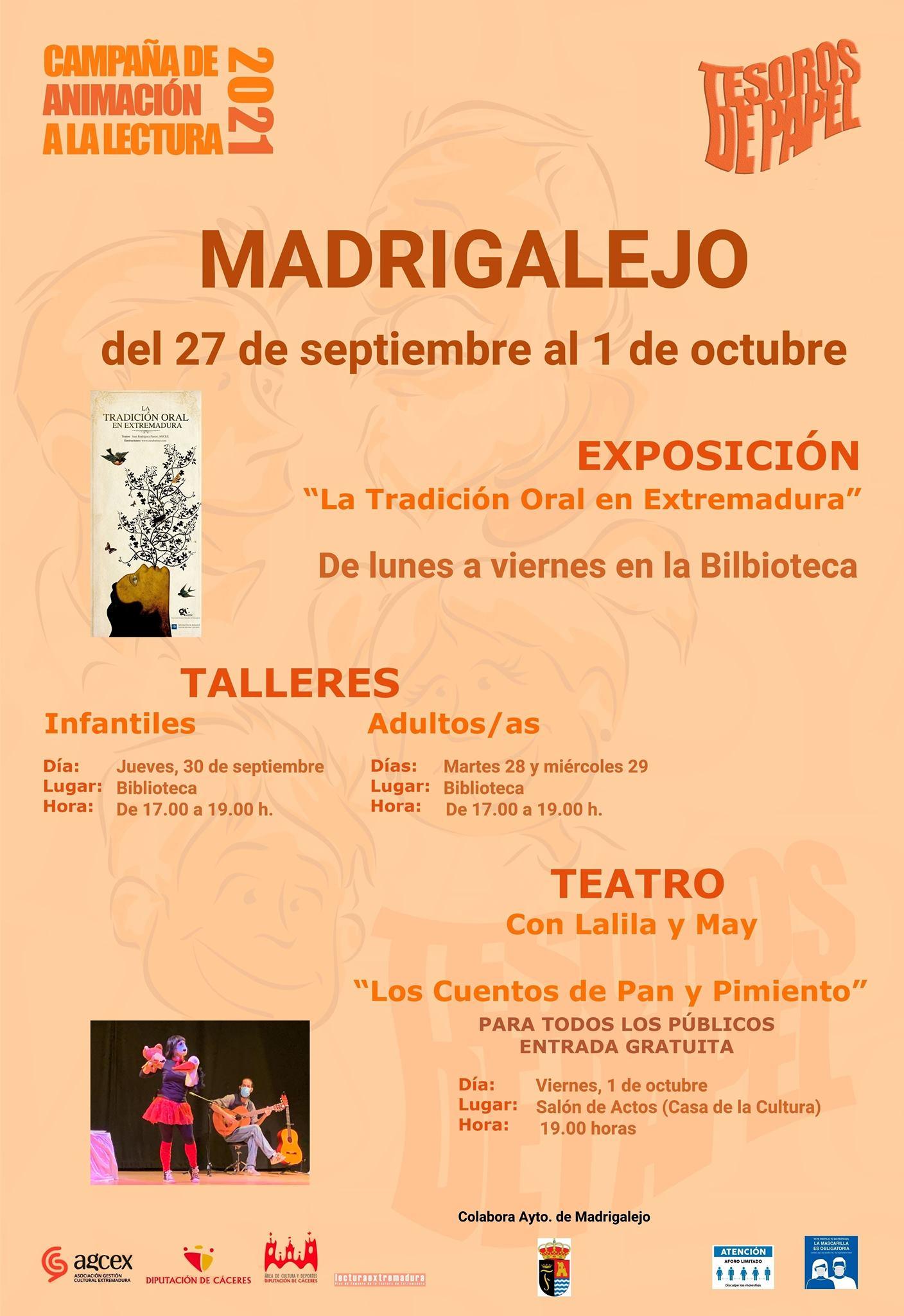 Campaña 'Tesoros de Papel' en Madrigalejo