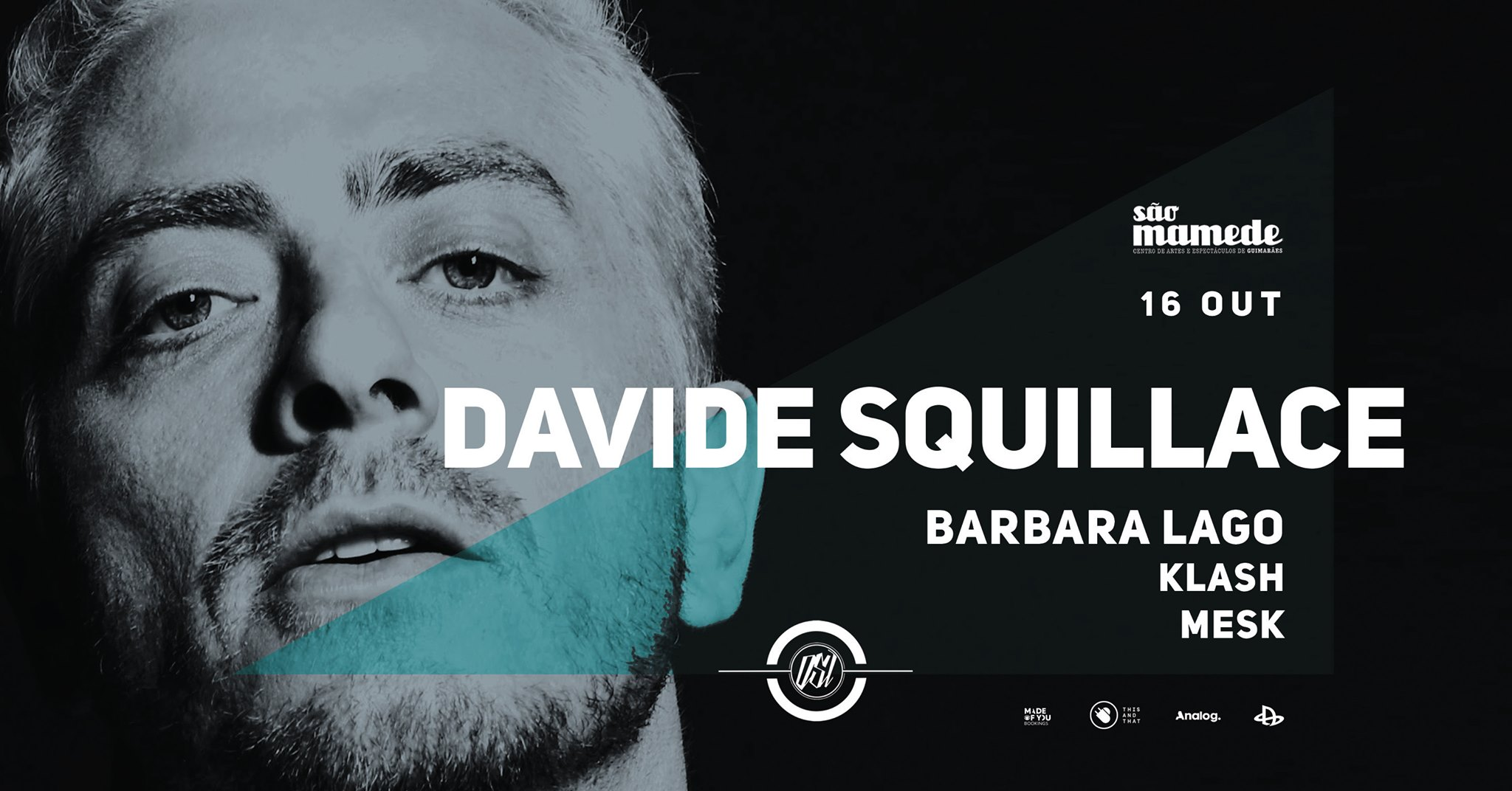 OSI presents - DAVIDE SQUILLACE