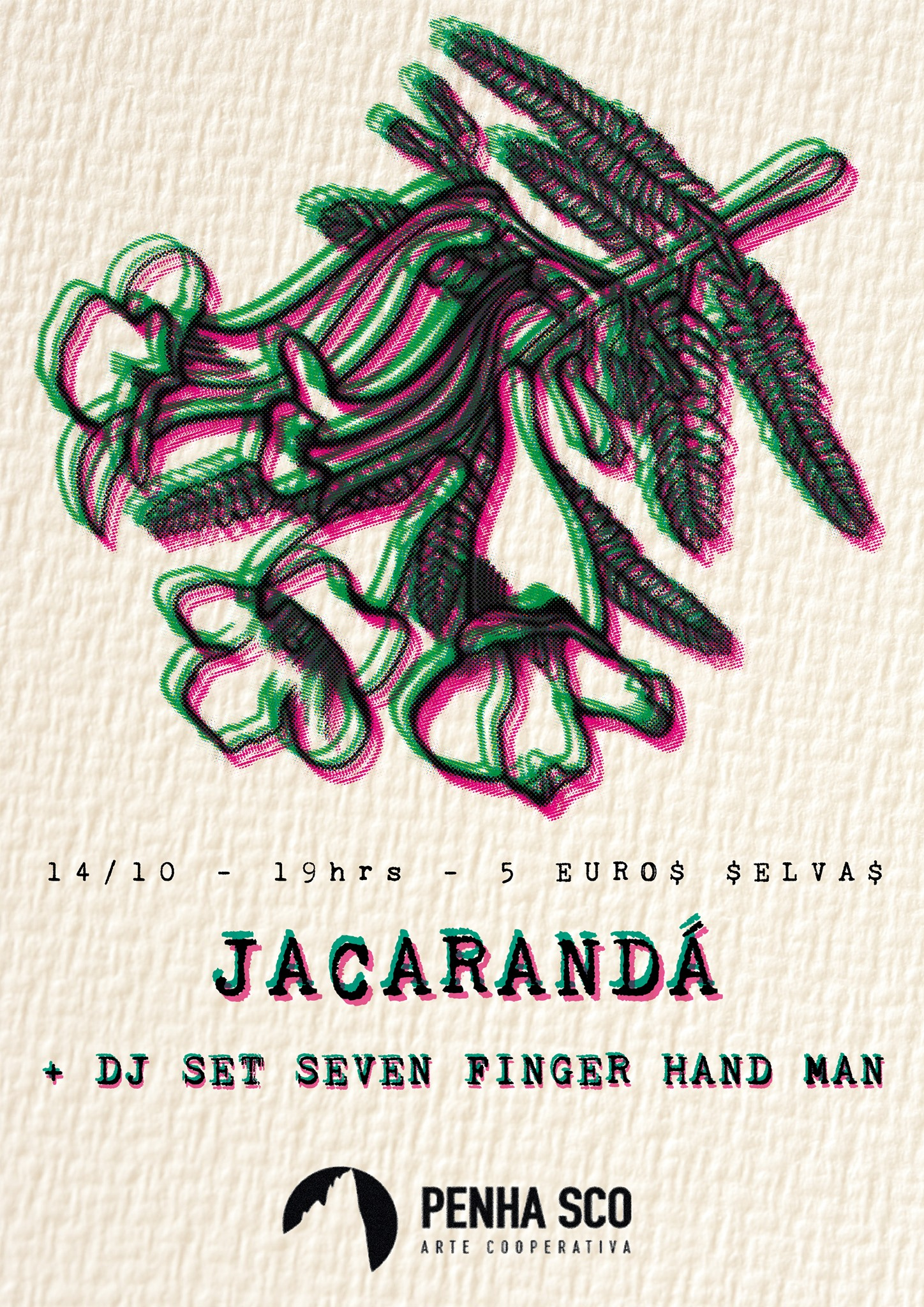 Jacarandá Ao vivo+ Dj Seven Finger Hand Maner @ Penha SCO