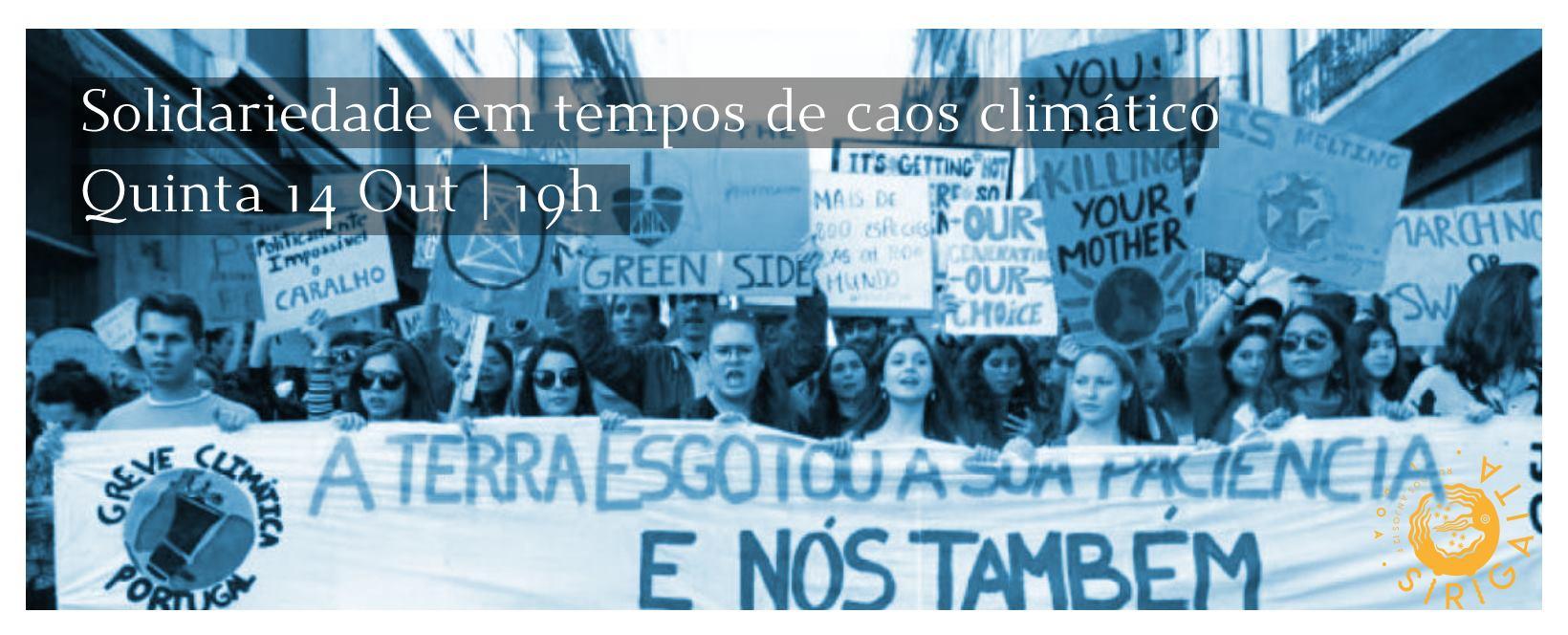Solidariedade em tempos de caos climático | Fórum aberto