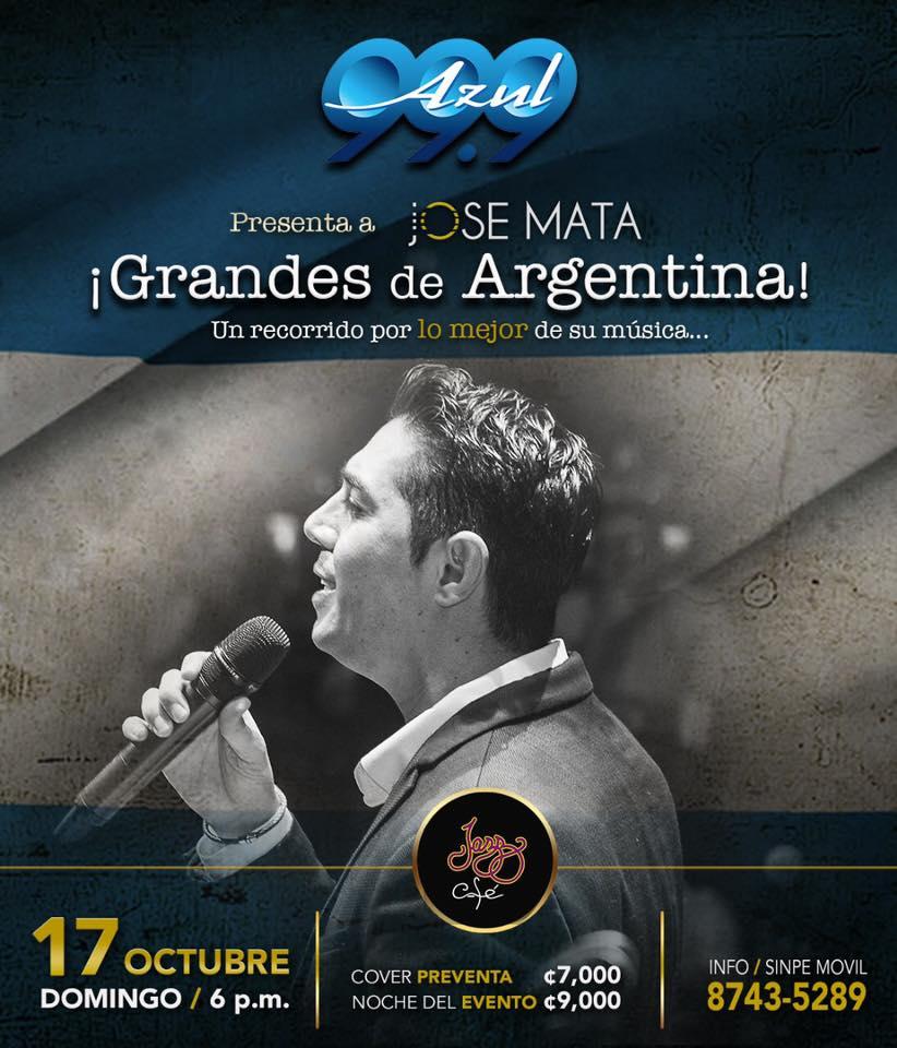 Grandes de Argentina por Jose Mata