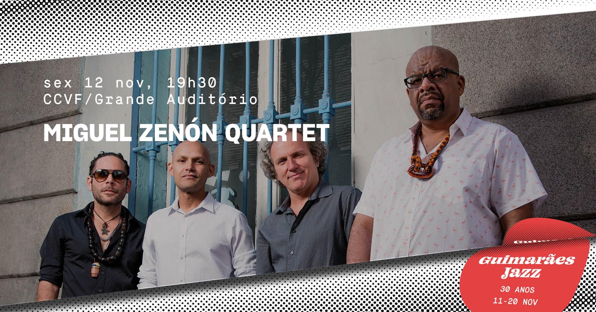 Guimarães Jazz 2021 • Miguel Zenón Quartet