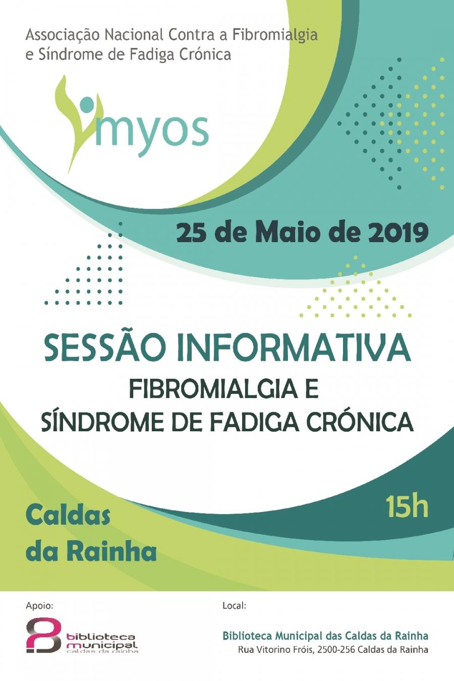 Sessão de Fibromialgia e Síndrome de Fadiga Crónica