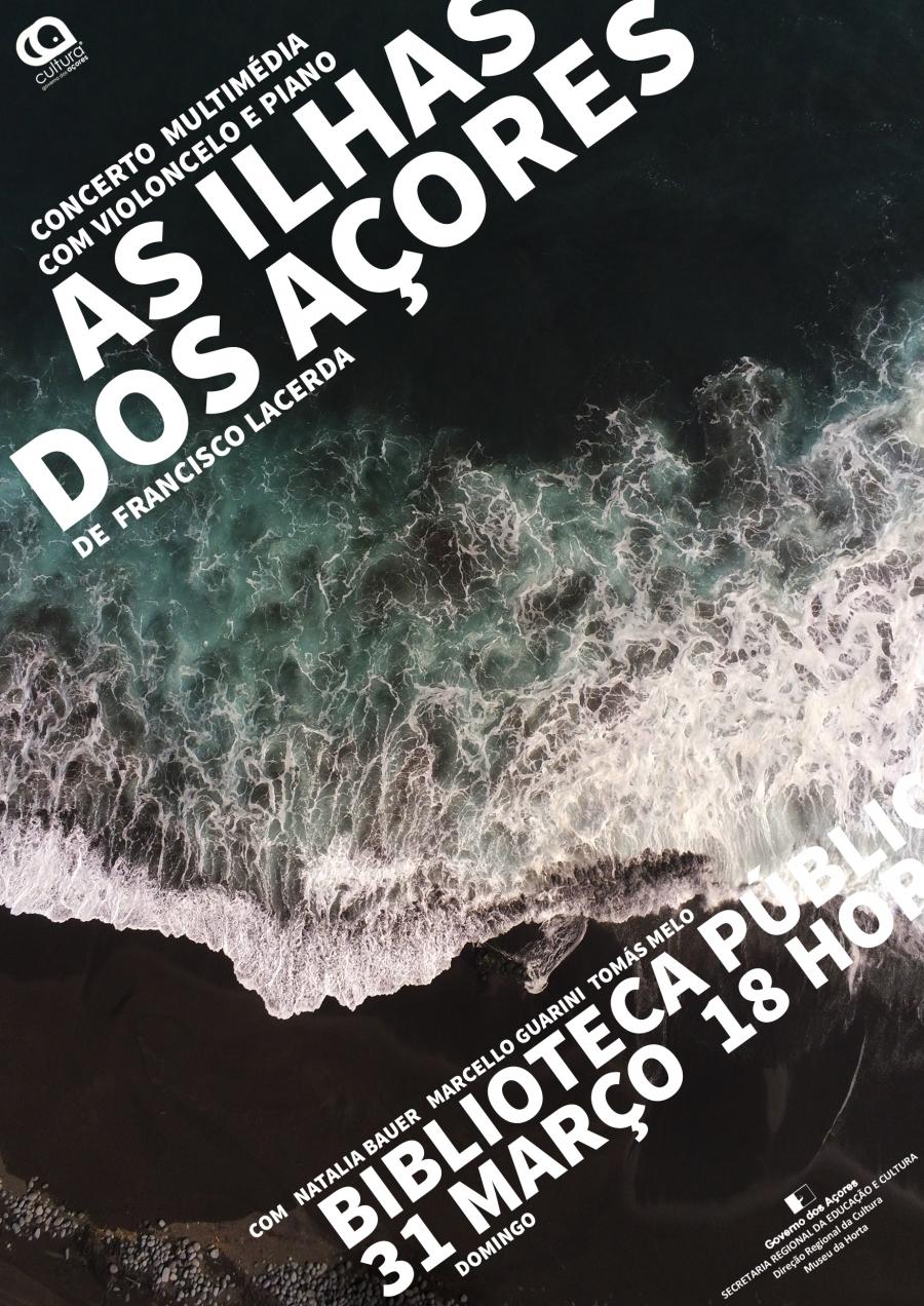 """Concerto Piano e Violoncelo """"As Ilhas dos Açores"""", de Francisco de Lacerda"""
