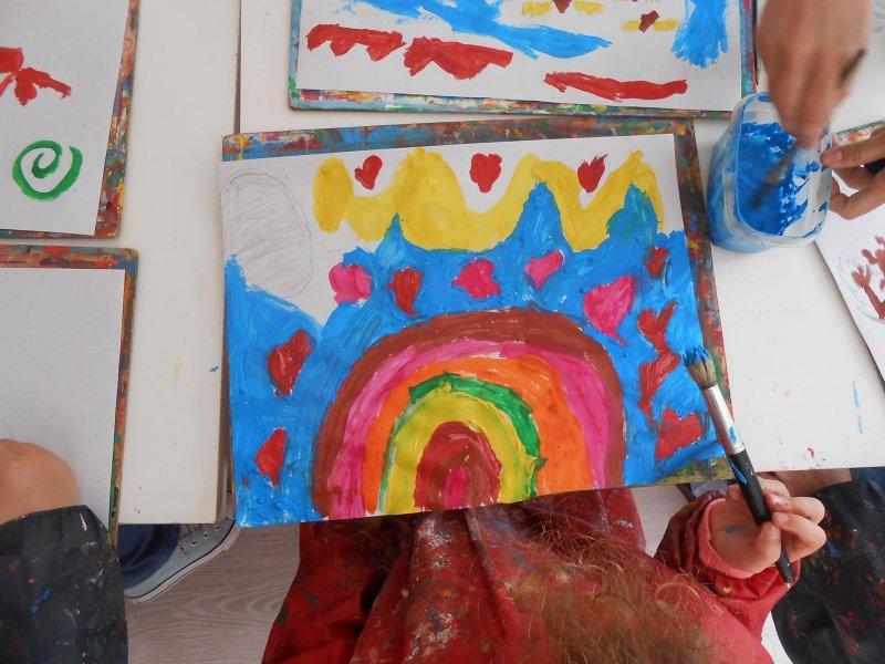 Comemorações do 25 de Abril - Pintura para Crianças