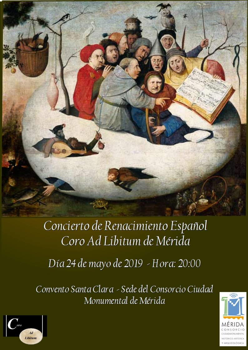 Concierto de Renacimiento Español Coro Ad Libitum