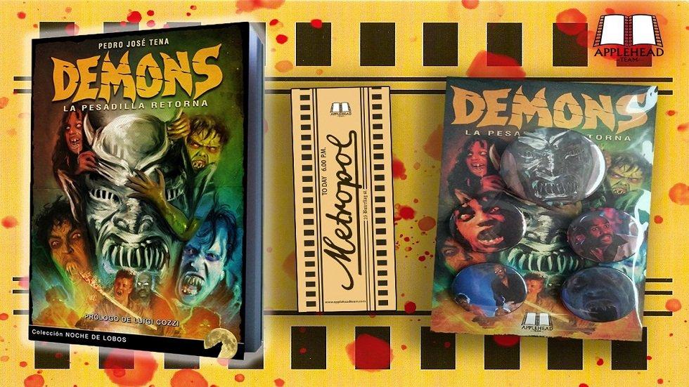 Presentación de «Demons: La pesadilla retorna» – Pedro José Tena