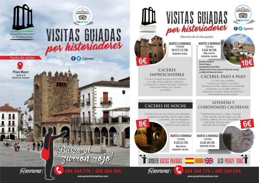 Visitas guiadas en Cáceres