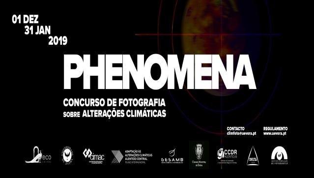 Concurso de Fotografia Phenomena... sobre alterações climáticas