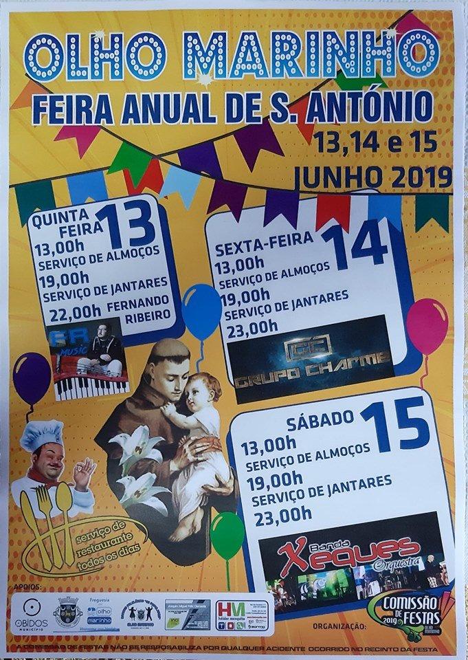 Feira Anual de Santo António | Olho Marinho