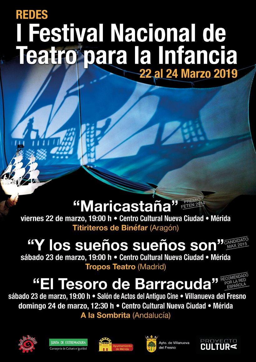 I Festival Nacional de Teatro para la Infancia REDES