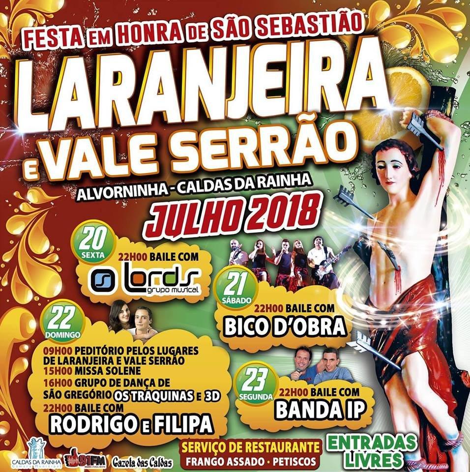 Festa em Laranjeira - Alvorninha