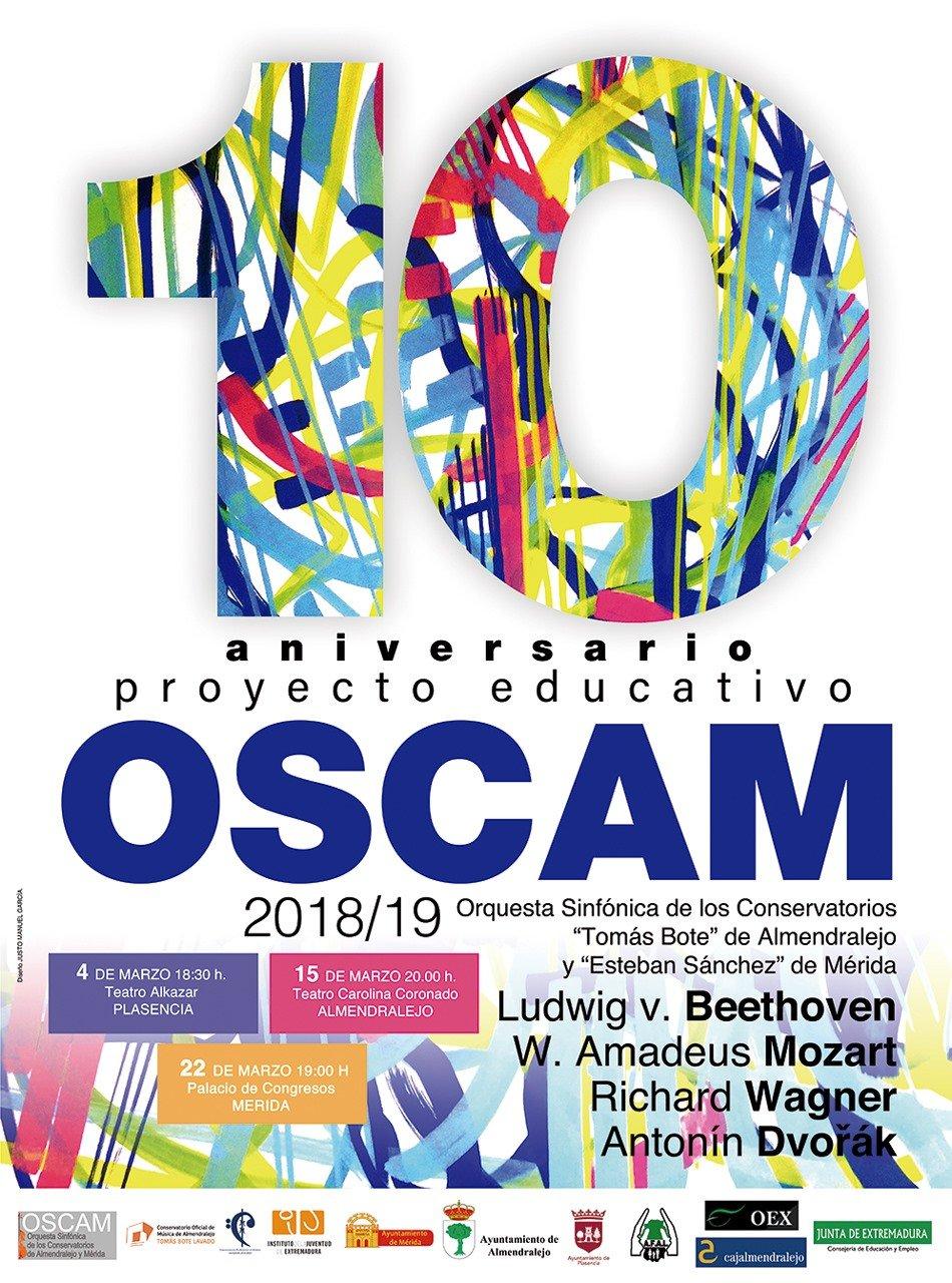 Concierto de la Orquesta Sinfónica OSCAM 2019