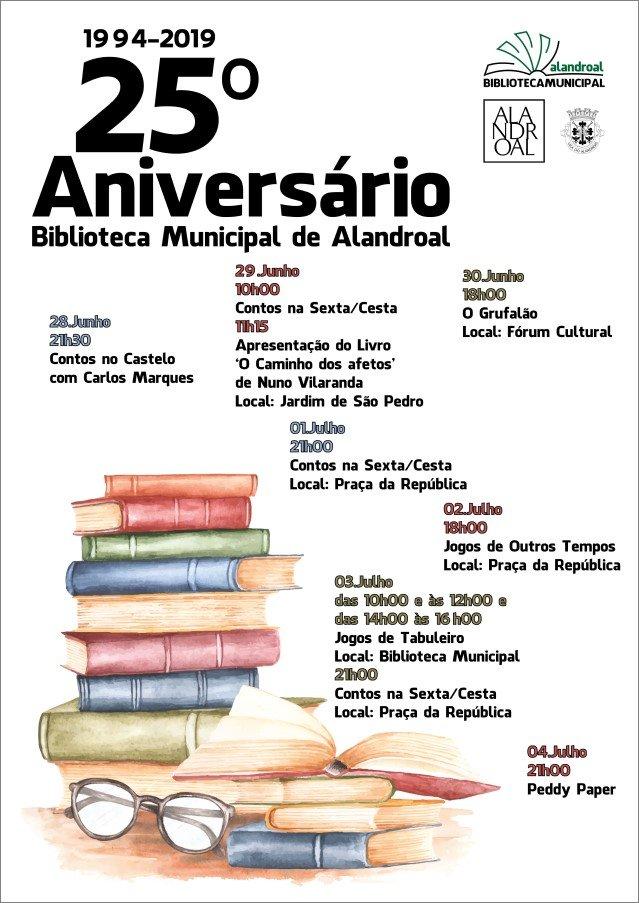 25.º Aniversário da Biblioteca Municipal de Alandroal