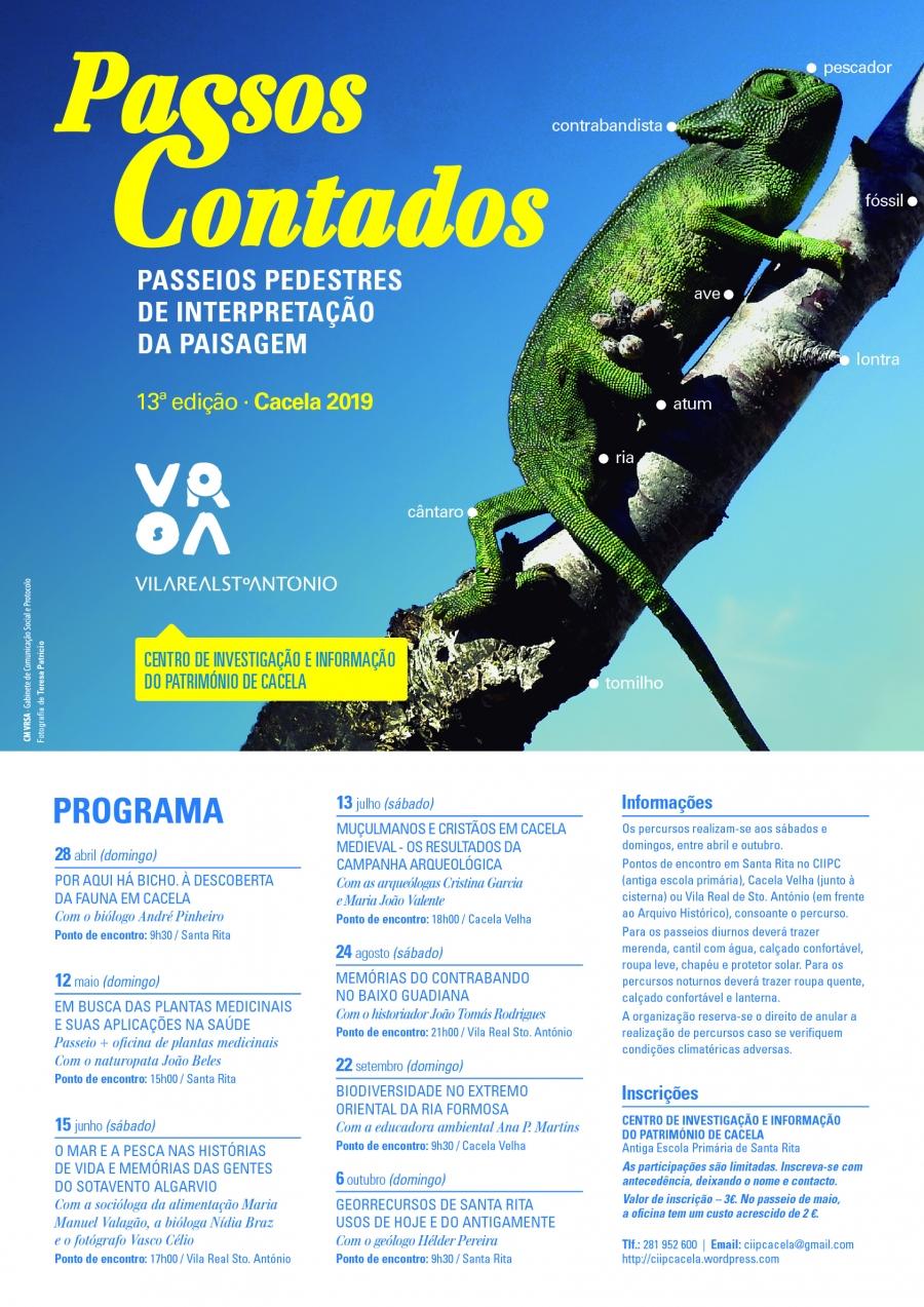 Passos Contados «O Mar e a Pesca nas histórias de vida e memórias das gentes do Sotavento Algarvio»