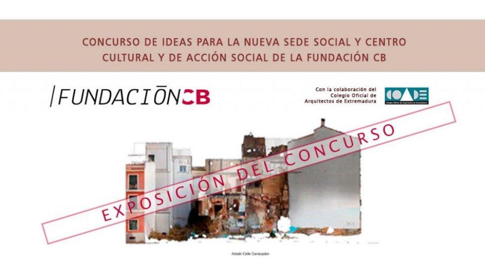 Exposición de los proyectos presentados en el COADE – Fundación CB