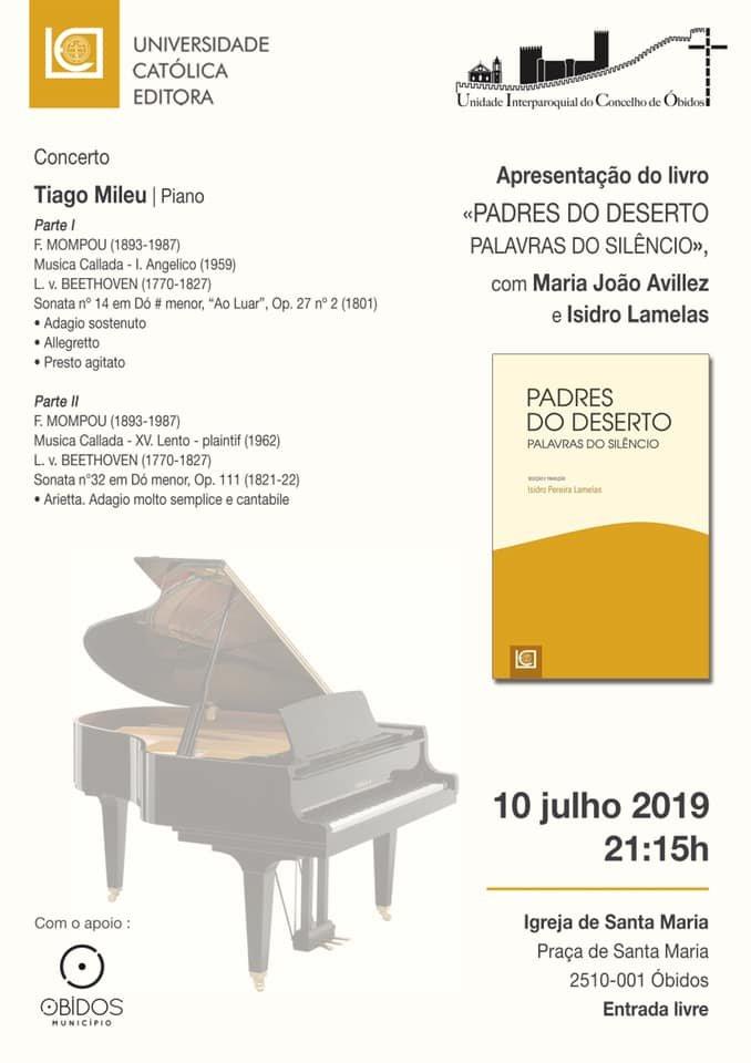 Universidade Católica Editora -  Concerto de Piano/ Apresentação Livro