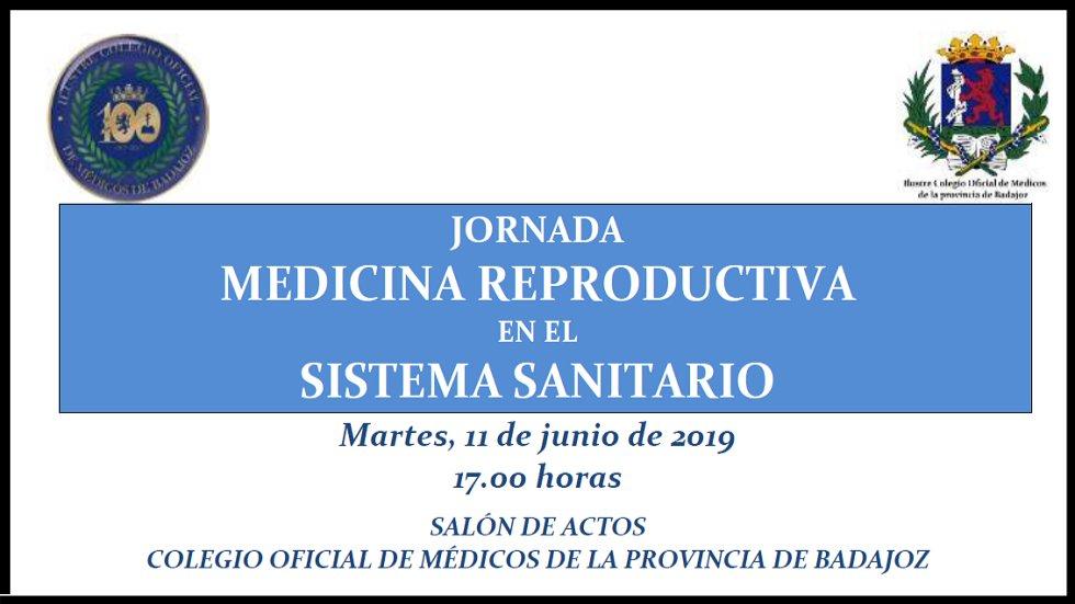 """Jornada """"Medicina reproductiva en el Sistema Sanitario"""""""