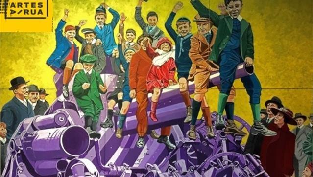 Exposição de Pintura 'Dia do Armistício' de Júlio Quirino