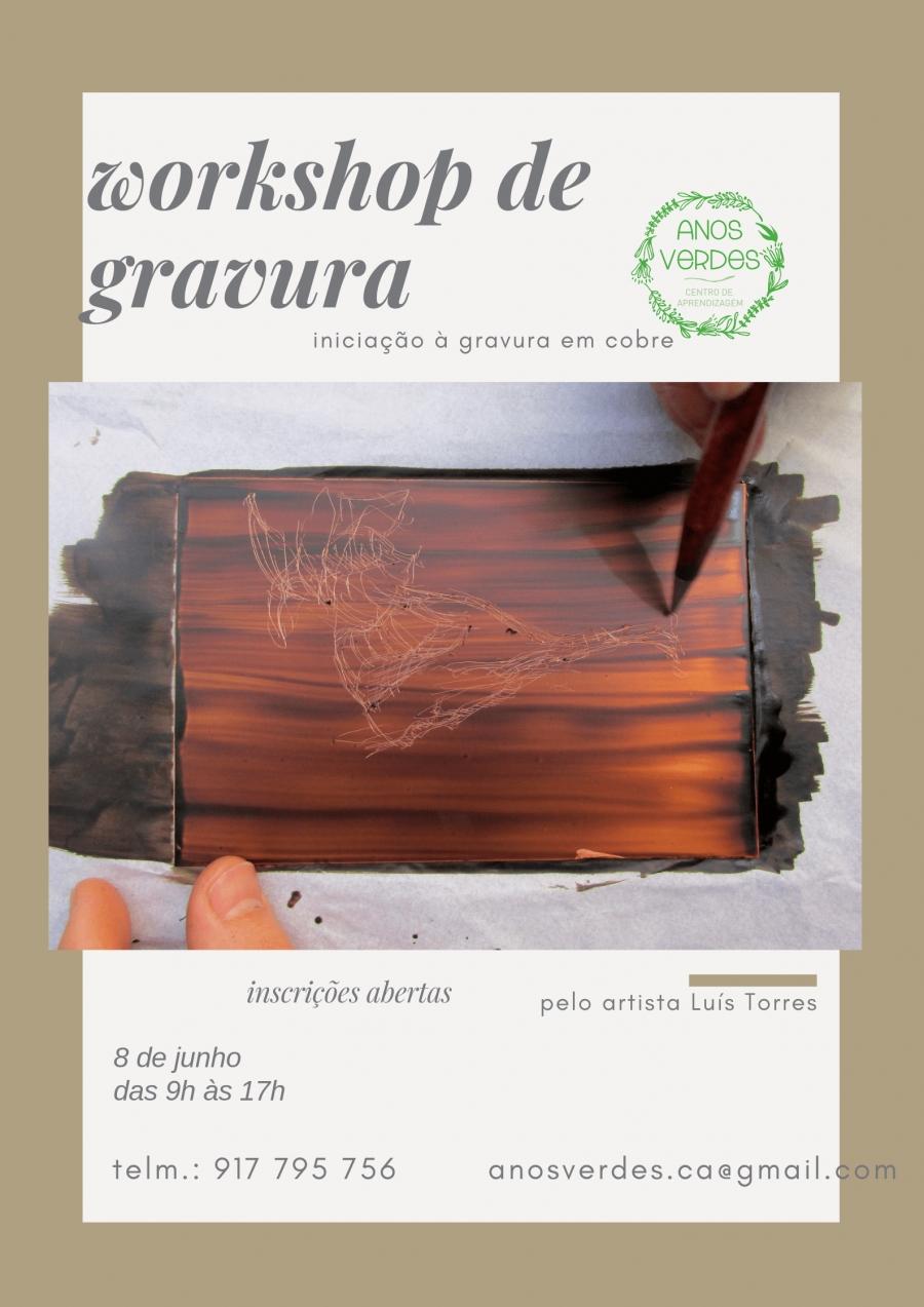 Workshop de Gravura em cobre