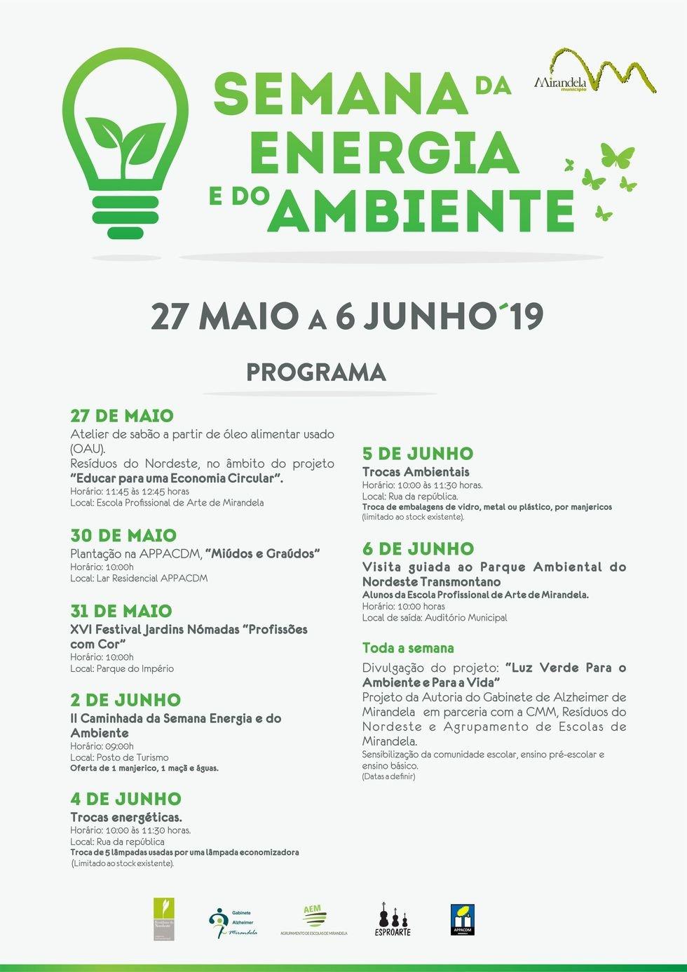 Semana da Energia e do Ambiente 2019