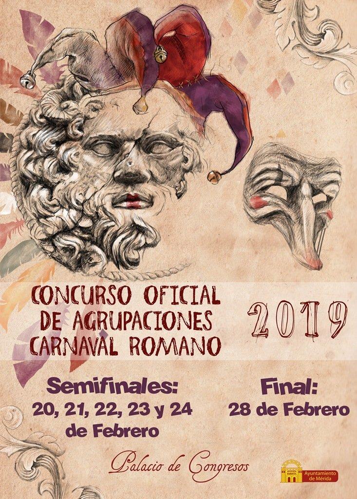 Concurso Oficial Agrupaciones Carnaval Romano