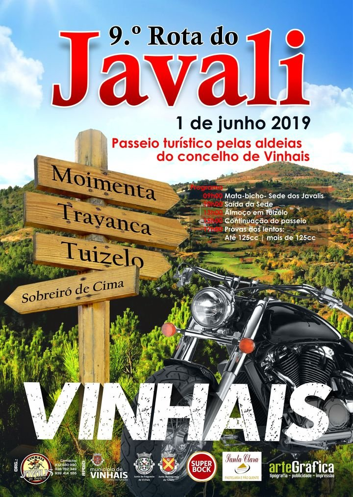 IX Rota dos Javalis, Passeio Turístico pelo Concelho de Vinhais