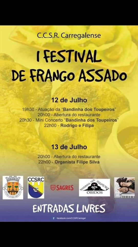 I Festival de Frango Assado | Carregal