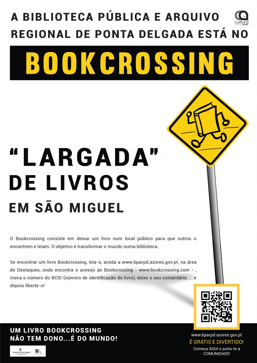 """Bookcrossing - """"Encontre um livro livre, leia-o e liberte-o"""""""