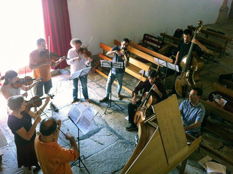 Ensaio Aberto pelo Concerto Ibérico - Orquestra Barroca