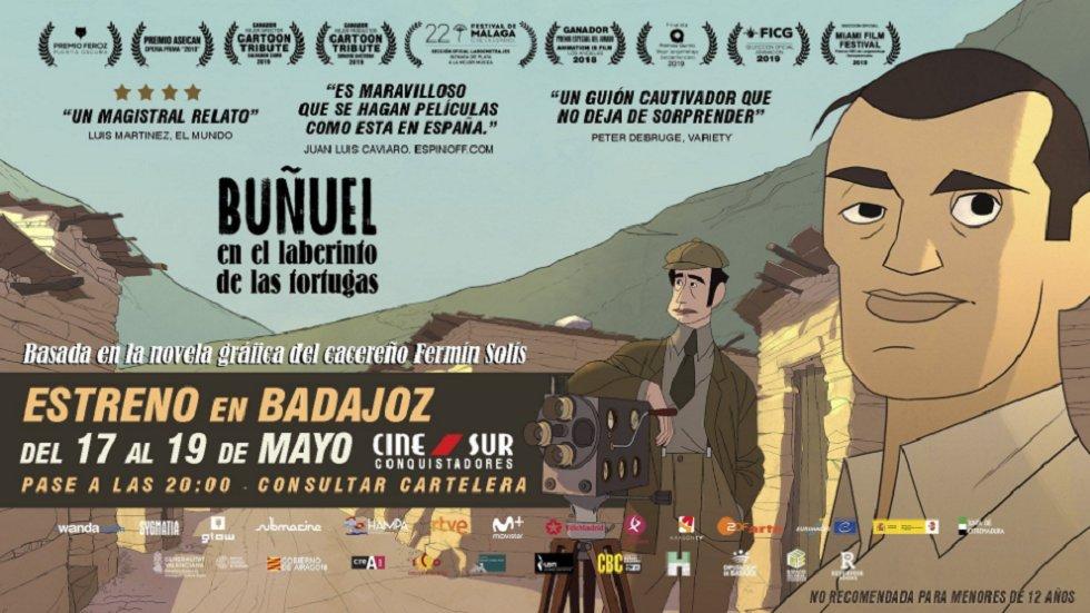 Proyección \'Buñuel en el laberinto de las tortugas\'