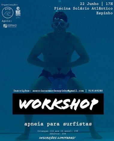WORKSHOP - Apneia para Surfistas