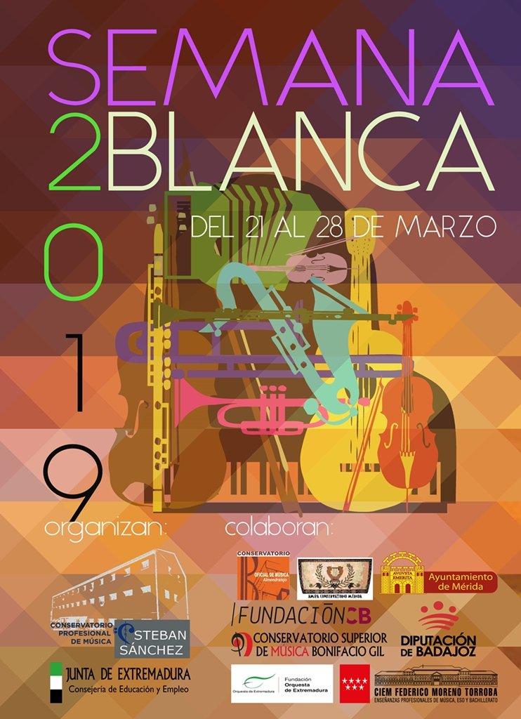 Semana Blanca 2019 del Conservatorio Esteban Sánchez