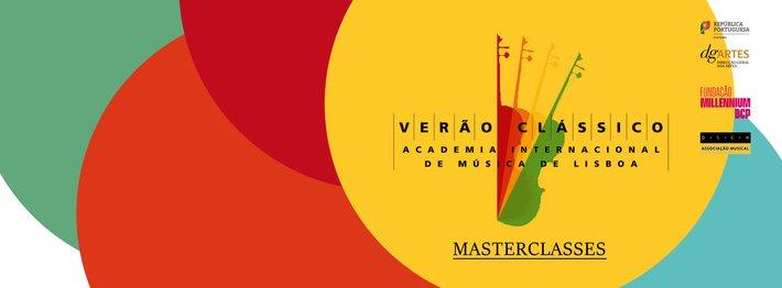 VERÃO CLÁSSICO - MASTERCLASSES -