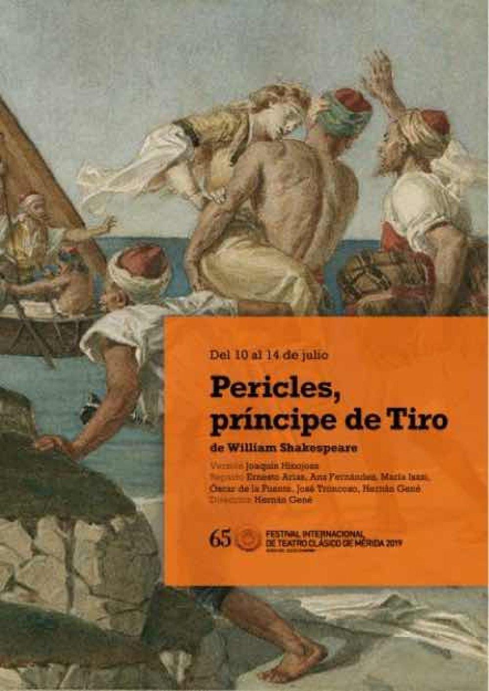 Pericles, príncipe de Tiro. Festival Internacional de Teatro Clásico de Mérida