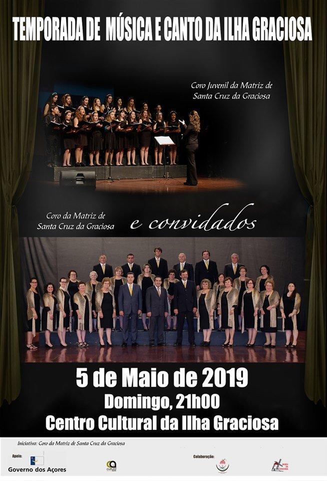 Temporada de Música e Canto da Ilha Graciosa 2019