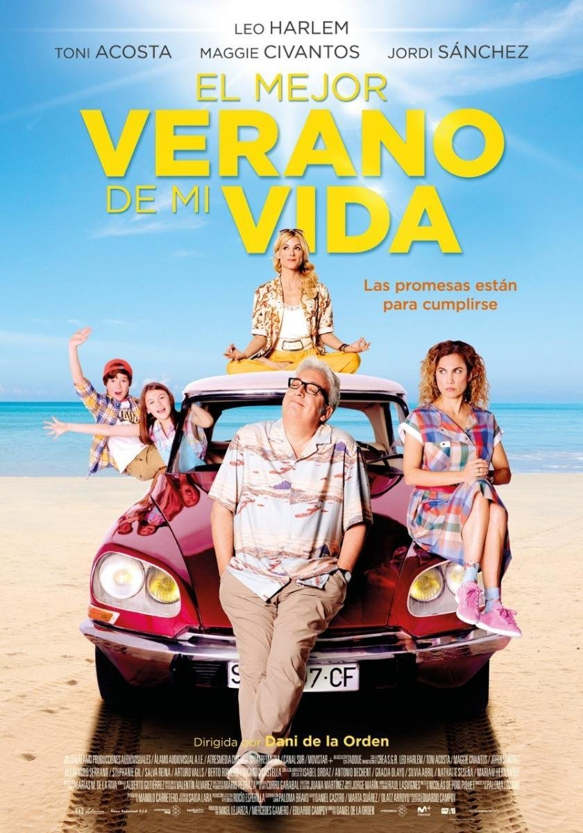 """Ciclo Cine Aire Libre: """"El mejor verano de mi vida"""""""