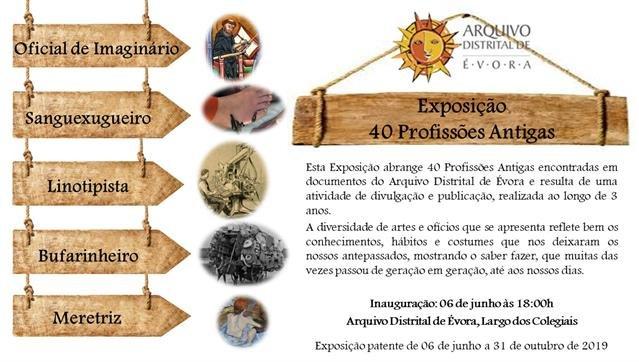 """Exposição """"40 Profissões Antigas"""""""