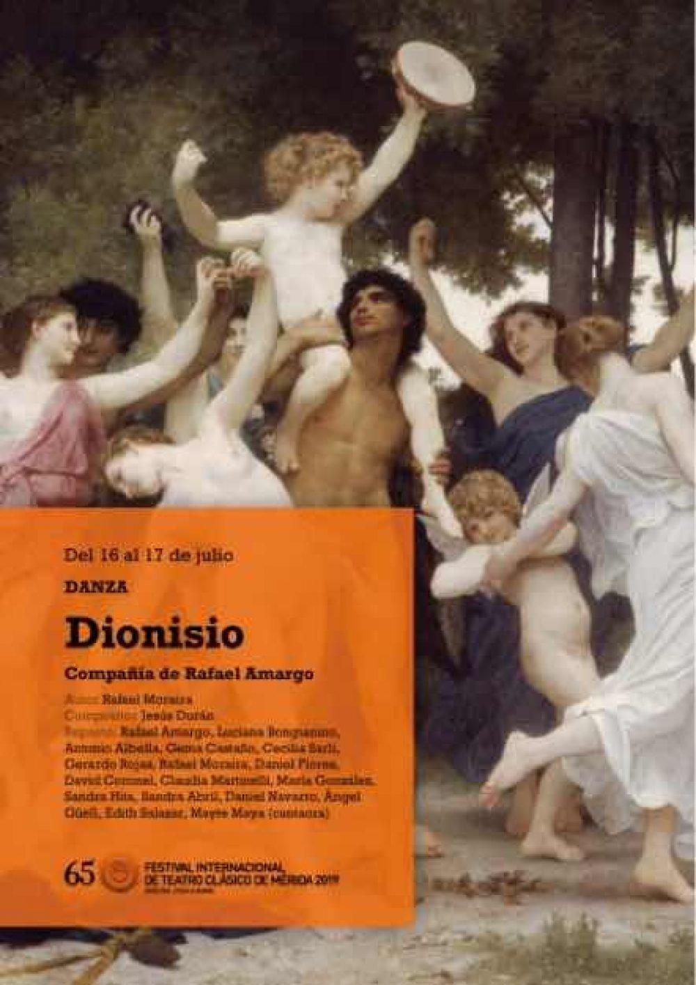 Dionisio. Festival Internacional de Teatro Clásico de Mérida