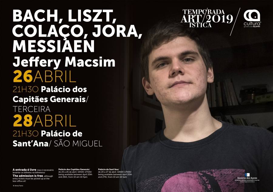Jeffery Macsim | Temporada Artística 2019