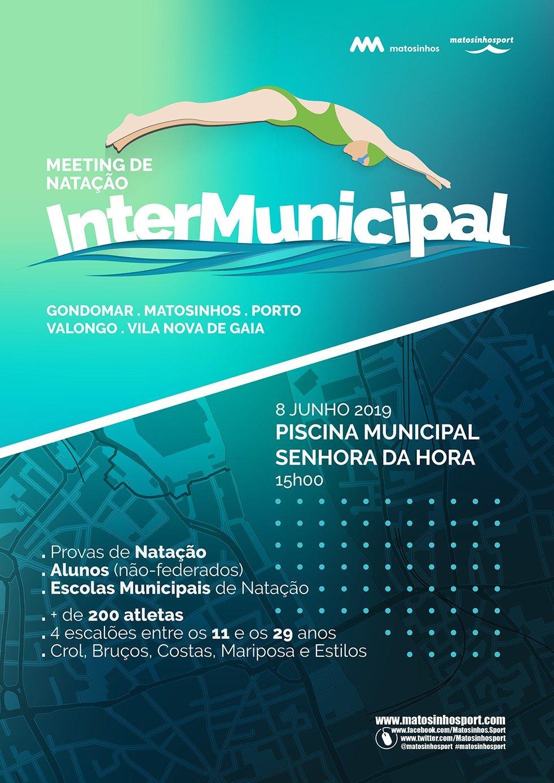 Meeting de Natação Intermunicipal