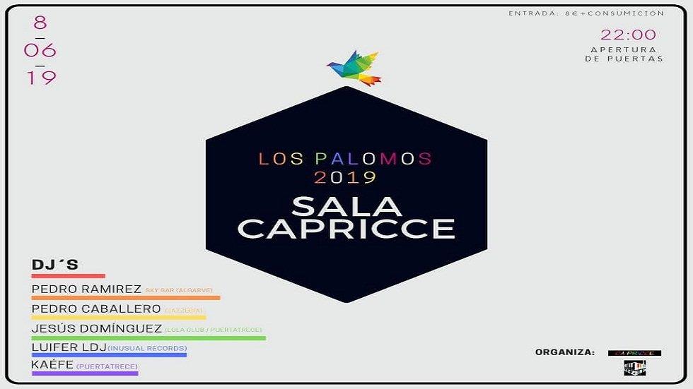 Sala Capricce - Los Palomos 2019