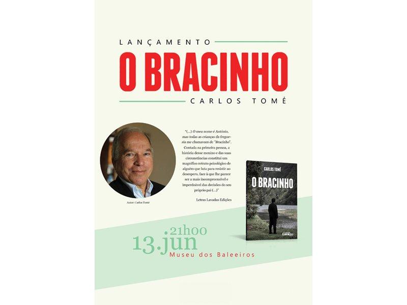 Museu do Pico acolhe o escritor Carlos Tomé no lançamento do livro 'O Bracinho'