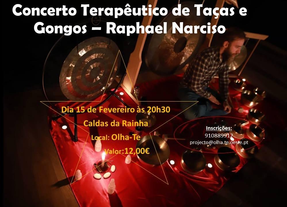 Concerto Terapêutico de Taças e Gongos, com Raphael Narciso