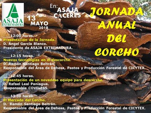 Jornada Anual del Corcho. Cáceres