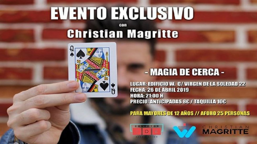 Magia de Cerca con Christian Magritte
